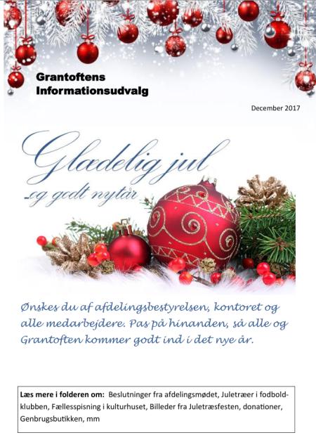 Grantoftens Informationsudvalg December 2017