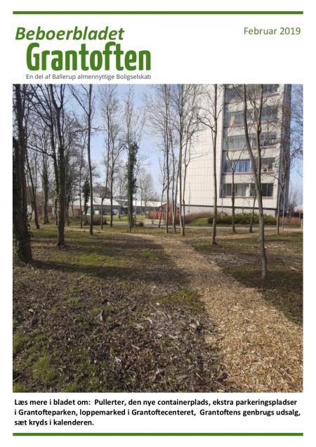 Beboerbladet Grantoften Februar 2019