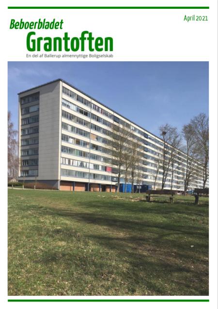 Beboerbladet Grantoften april 2021