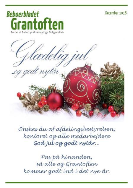 Beboerbladet Grantoften December 2018