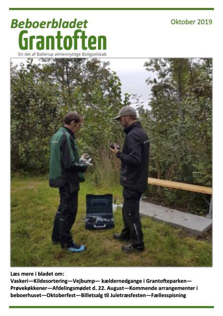 Beboerbladet Grantoften Oktober 2019